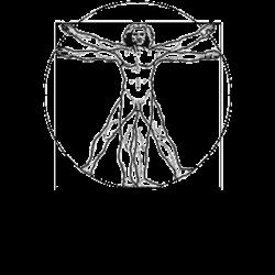 Mann im Kreis von Leonardo da Vinci