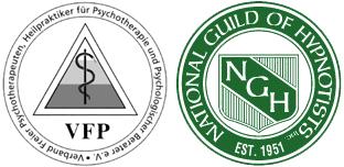 Hypnose, VfB und NGH Logo