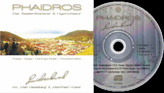 Hypnose Musik CD-Album Liebeskind Phaidros • Datenschutz