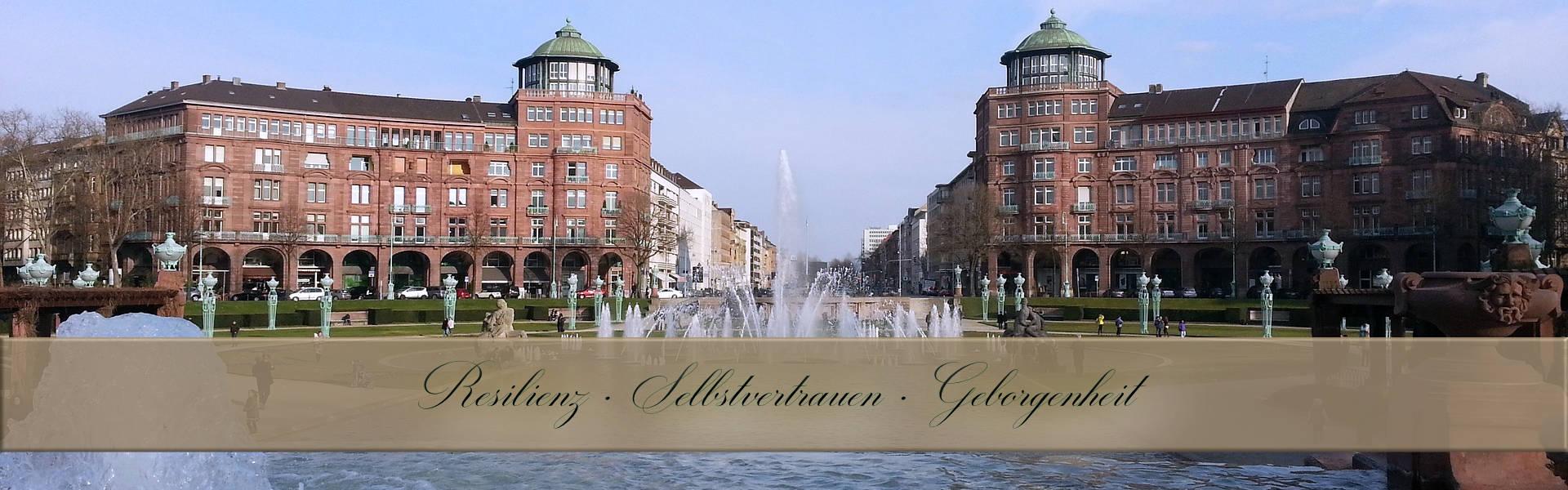 Hypnose Mannheim, Wasserspiele am Wasserturm