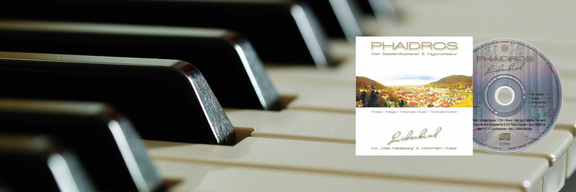 Hypnose Seminar Musik CD-Album