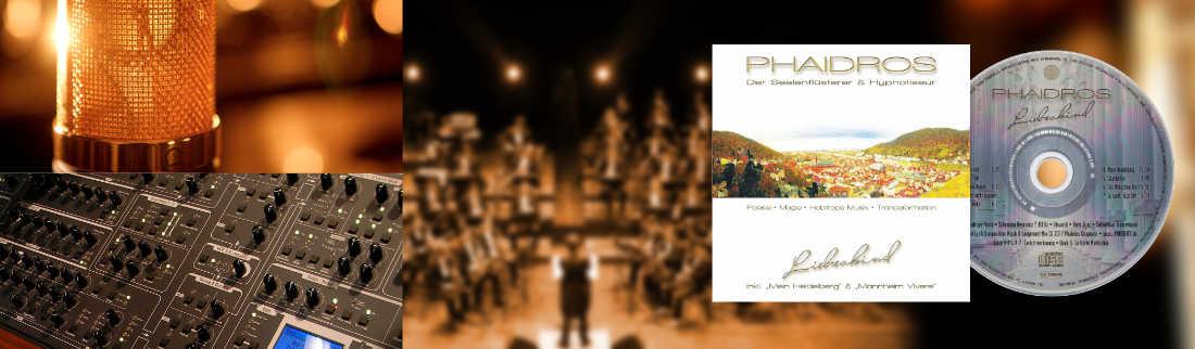 Hypnose Seminar Musik CD-Album Liebeskind Phaidros