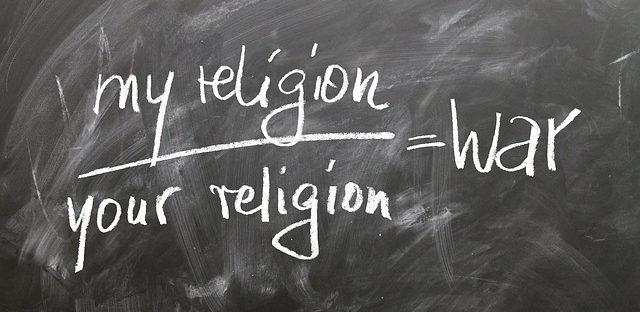 Sind Gläubige tickende Zeitbomben, my religion / your religion is war