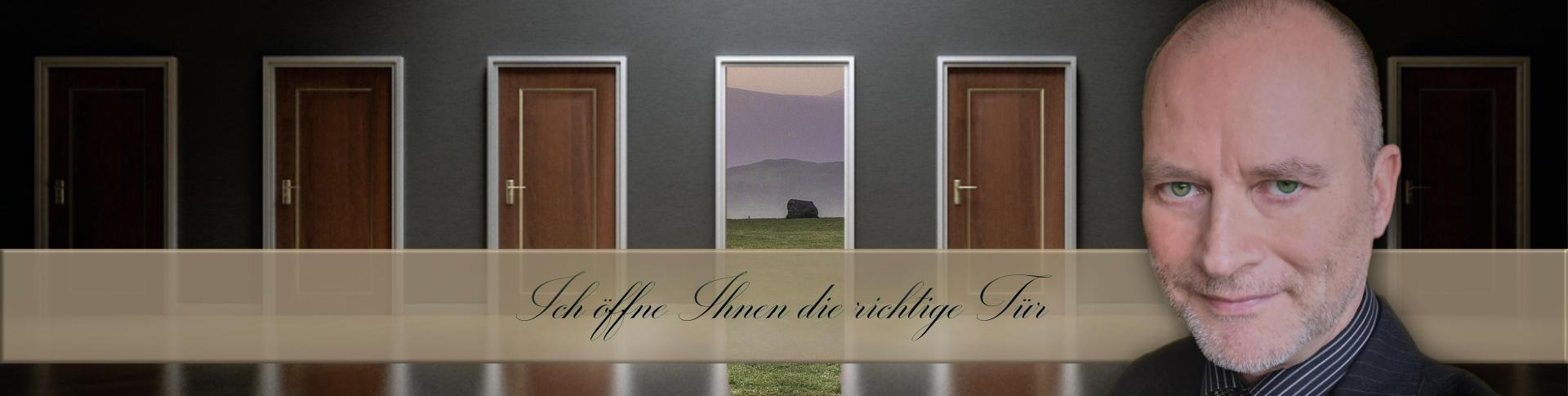 Ich öffne Ihnen die richtige Tür