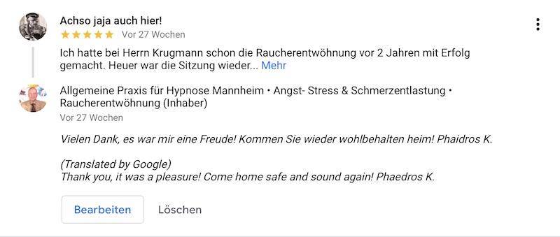 Referenz 04 Hypnose Mannheim Heidelberg Eug