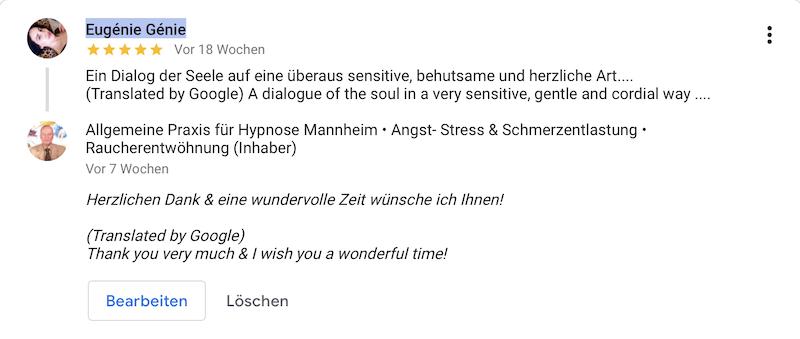 Referenz 05 Hypnose Mannheim Heidelberg Eug