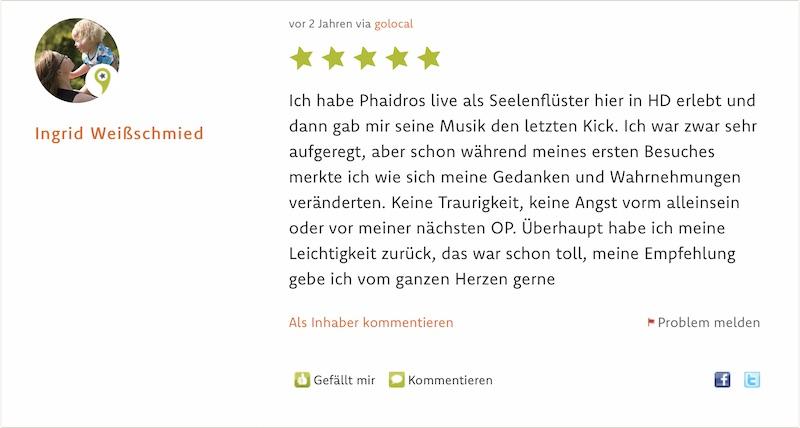 Referenz 02 Hypnose Mannheim Heidelberg Sivera