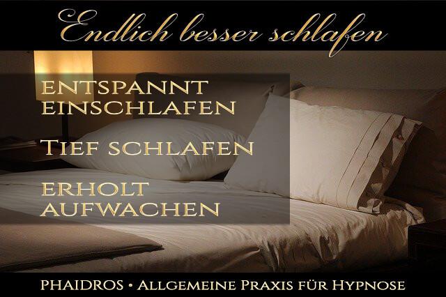 Hypnose Schlafstörungen www.phaidros.org